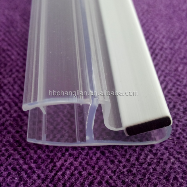 rubber magnetic shower curtain magnetic seal strip