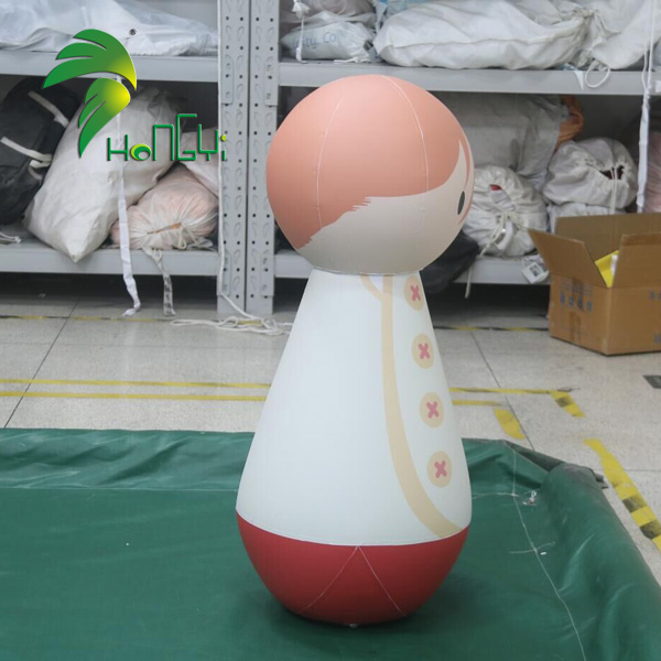 Funny PVC Anime Design Model Air Inflatable Cartoon Tumbler Toy