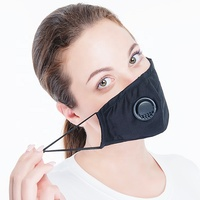 Design your own Cotton Face Mask Anti Dust Black Face Mouth Mask