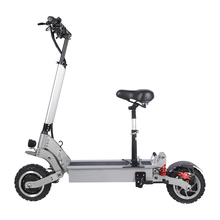 TPF 11 pulgadas Scooter Off Road 5600W Motor Dual plegable pantalla LCD Scooter Eléctrico