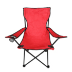 Lightweight Furniture Folding Chair Hotsale Lightweight Outside Oxford Cloth Picnic Traveling Furniture Beach Folding Camping Chair