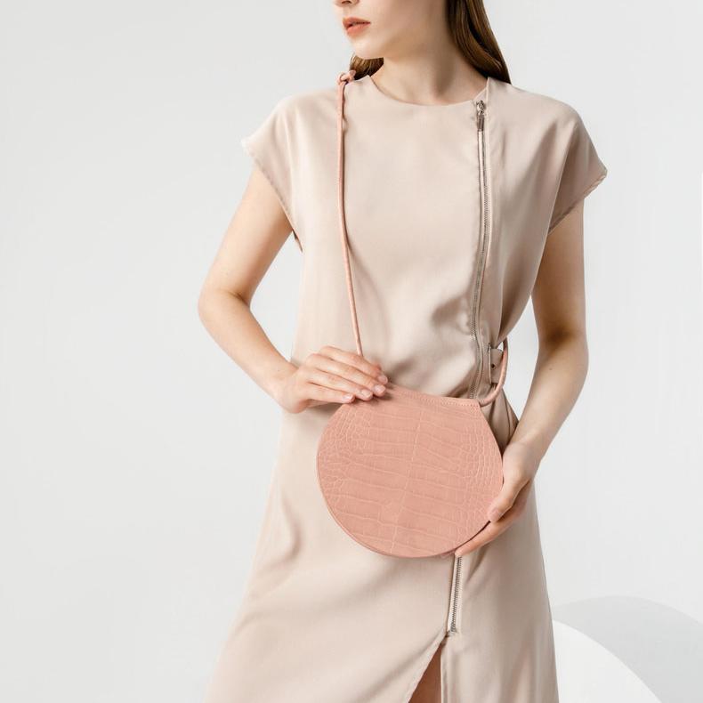 सरल शैली मगरमच्छ बनावट चमड़े के दूत पक्ष बैग फैक्टरी थोक महिलाओं के हैंडबैग पर्स
