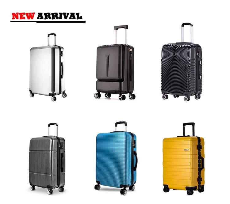 Nieuwe Stijl Metallic Afwerking Diverse Kleur ABS Reizen Trolley Bagage