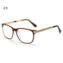 Oulylan, Ретро стиль, оправа для очков, для мужчин, металлические ноги, оправа для очков, для женщин, прозрачные линзы, для очков, женская мода, оп...(Китай)