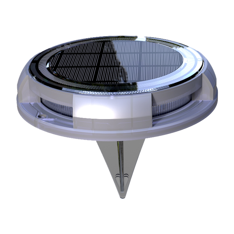 Amazon hot sell high quality IP68 WaterProof Solar Swimming Rock Pool garden pathway light