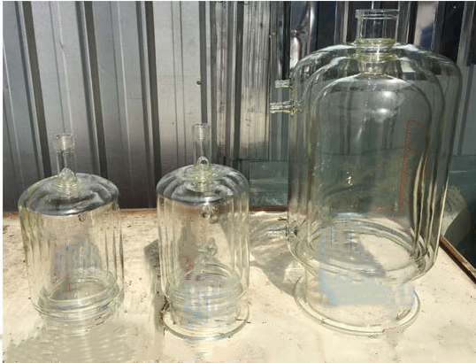Customized Lab Double Jacketed 10L Glass Reactor with High Quality