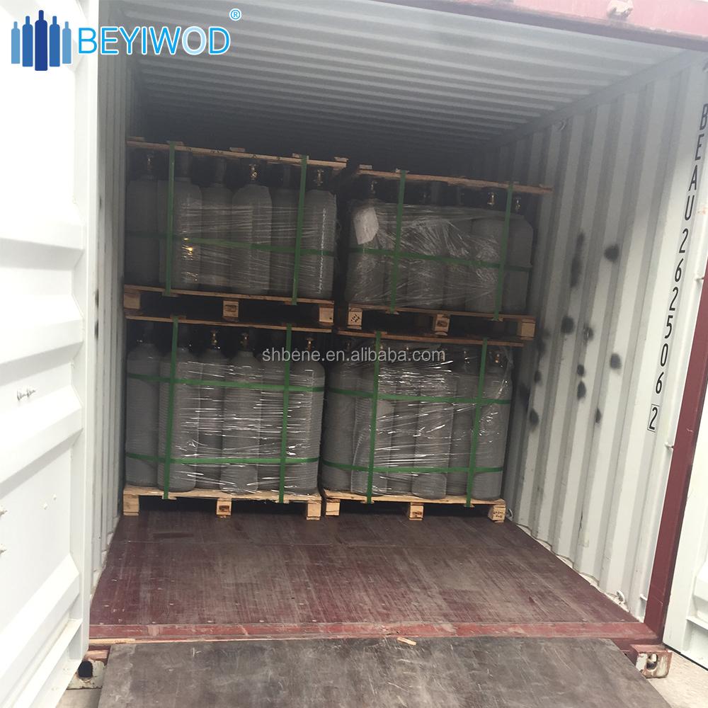 ISO7866 DOT3AL CE TPED 2L recarregáveis grau alimentício co2 cilindro de gás cilindro de alumínio de alumínio do tanque de oxigênio para uso médico