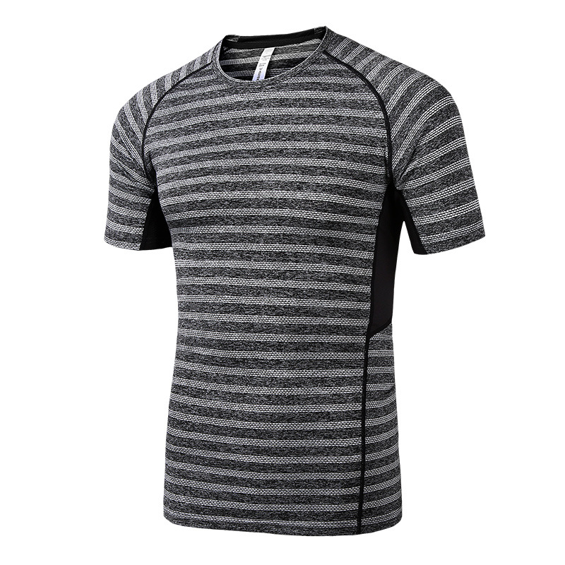 Customize New Short Sleeve Quick Dry Sportswear Gym Fitness Tops Sports Men t shirt fitness clothing