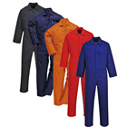 Breathable Cotton Work Wear Uniform Safety Coveralls Overall For Men