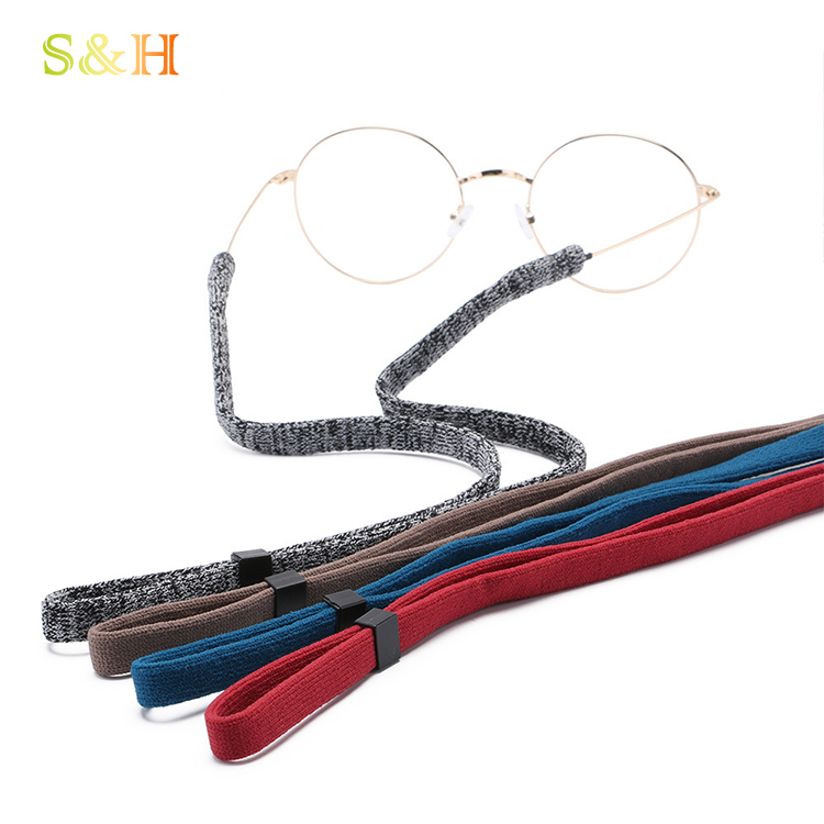 China manufacturer colorful eyewear accessory eyeglass chain cords