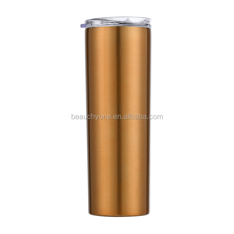 New vacuum stainless steel thermal tumbler double wall water cup thermal mug thermos