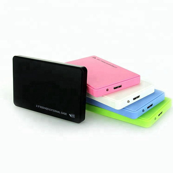 2TB HDD Case USB 3.0 To SATA HDD Box Hard Drive External Enclosure Black Case Without Screws Hard Disk X For PC