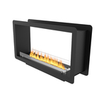 1500mm Ventless Double Side Openning Inserted Intelligent Bio Alcohol Fireplace