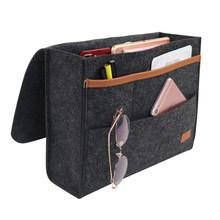 Войлочная прикроватная сумка для хранения, сумка для кровати, стола, дивана, телевизора, пульт дистанционного управления, подвесная сумка д...(Китай)