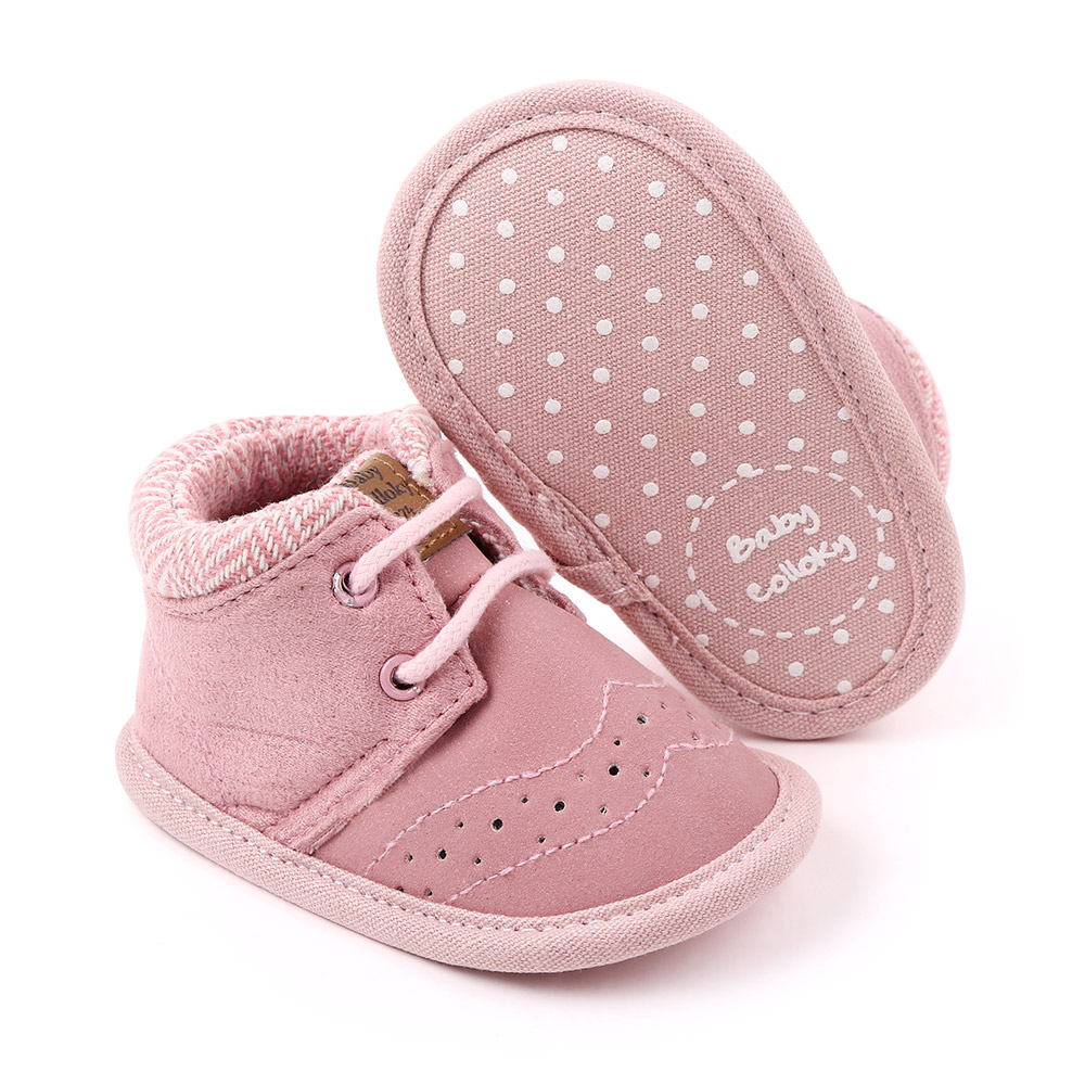 Spring &Autumn Cotton pink sneakers soft sole Toddler baby girls shoes