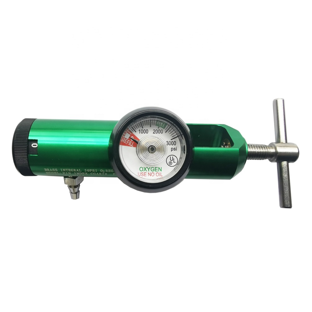 BEYIWOD régulateur d'oxygène Médical d'air régulateur de pression de gaz pour le régulateur de bouteille de gaz