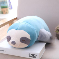 1pc Soft Simulation New Arrival Cute Plush Sloths Soft Toy Animals Plushie Doll Pillow for Kids Birthday Gift Stuffed Sloth Toy