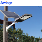 Awingr 2020 Solar Led Street Light 100W 200w 500w construction lighting High bright Waterproof IP67 flood lights from China