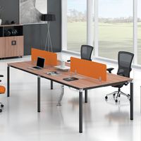 Cheap Office Table Desk 4 Persons/seats/people Office Partition