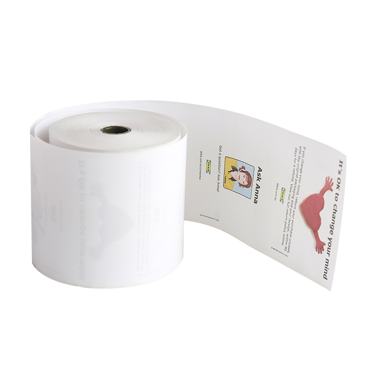 Thermal paper rolls and cash registers roll-80mm width roll printer