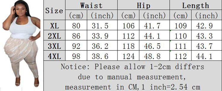 0042903 Latest Design Mid Waist Leisure Long Trouser Printed Pleated Women Pants Summer Casual Plus Size Daily Wear Casual Pant