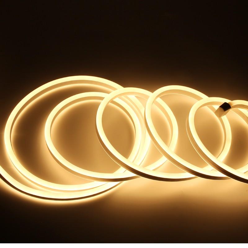 Waterproof LED Light Strip Color Changing Flexible 220v  LED rope Light