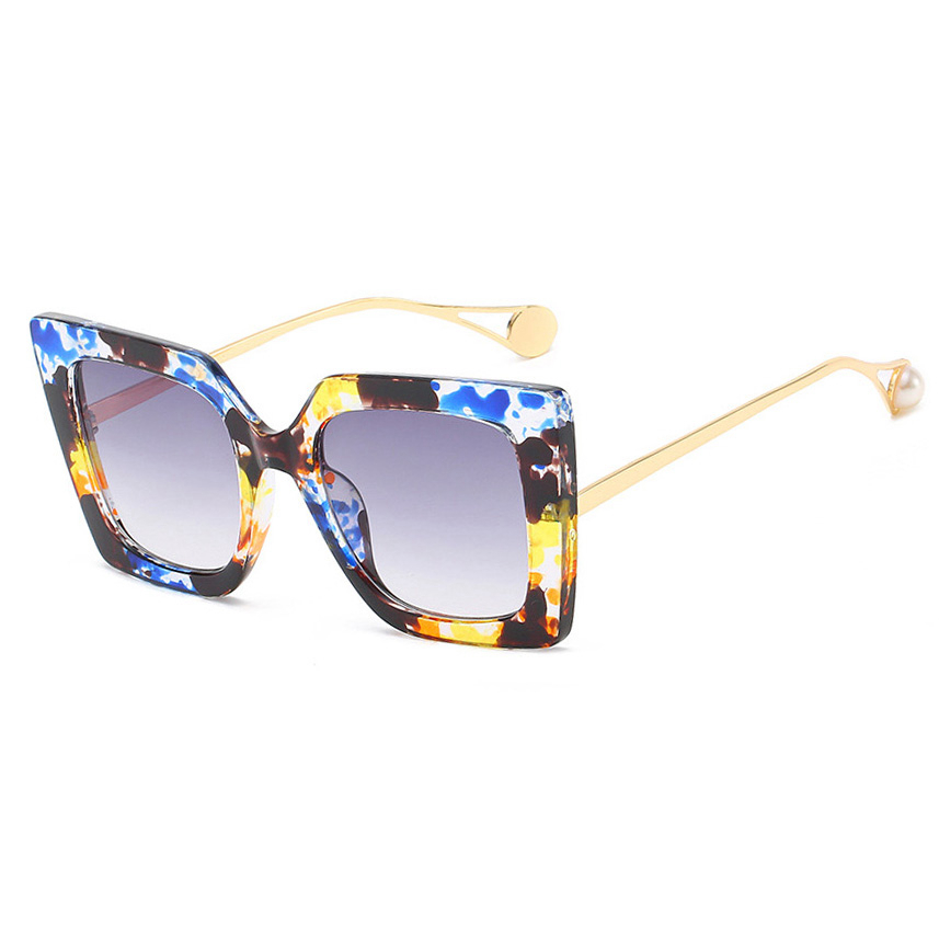Superhot Eyewear 25137 Fashion Square Women Female Shades Sunglasses