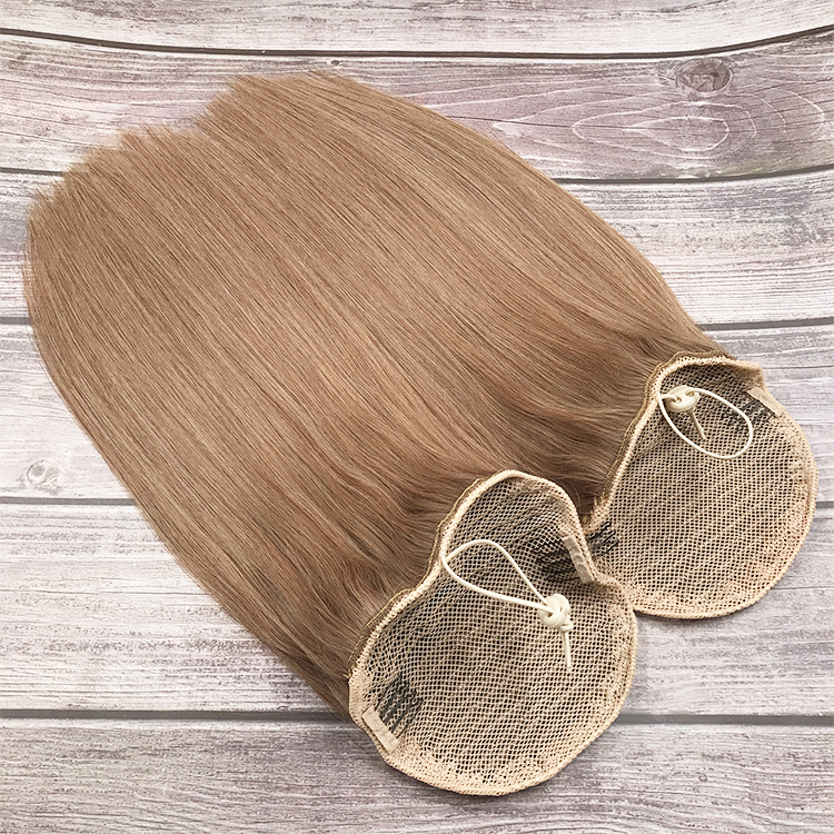100% 큐티클 정렬 버진 인도 인간의 머리카락 포니 테일 확장