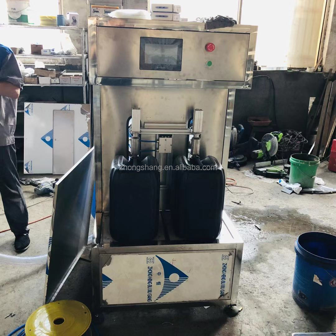 High quality 1-10L semi automatic liquid clean detergent filling machine for sale
