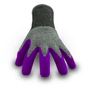 Good Selling Hppe Comfortable Tpr Pvc Coated Gloves