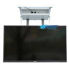 Home and office used TV stand remote control motorized flip down ceiling tv lift for 32-70 inch TV