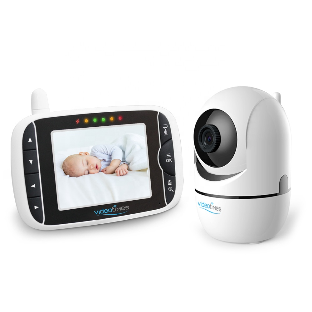 3.2 INCH LCD 2.4GHz WIRELESS  DIGITAL  VIDEO  WITH REMOTE PAN-TILT-ZOOM CAMERA BABY MONITOR
