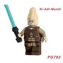 Одиночная продажа Звездных Войн кирпича Yoda Dengar Coleman treбор Хан Solo Leia солдат-клон Мейс Винду Луминара ундули строительный блок(Китай)