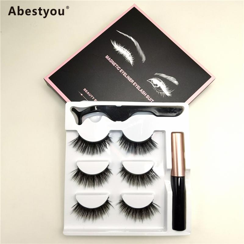 Abestyou magnetic eyelashes and eyeliner
