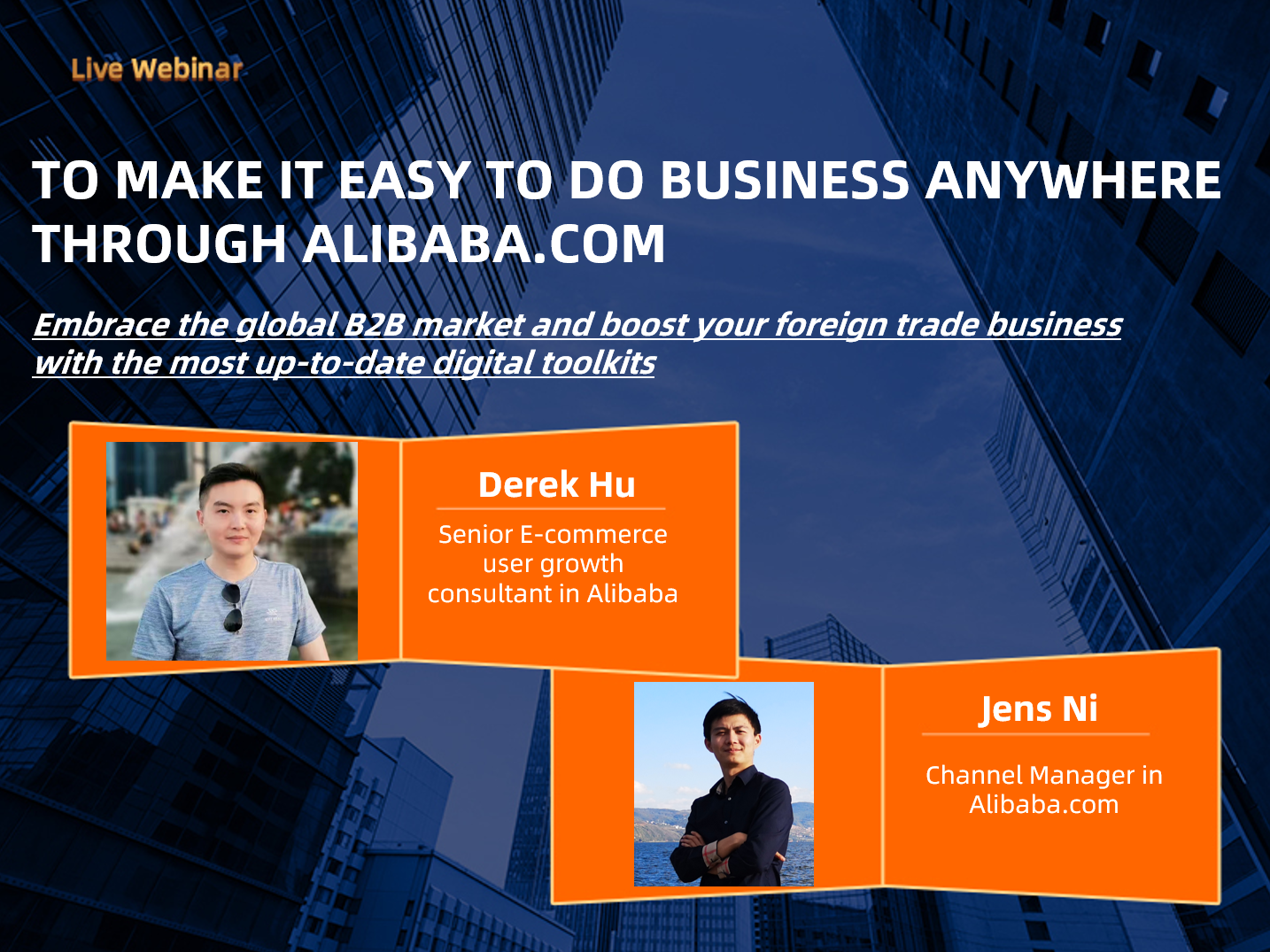 To make it easy to do business anywhere through Alibaba.com