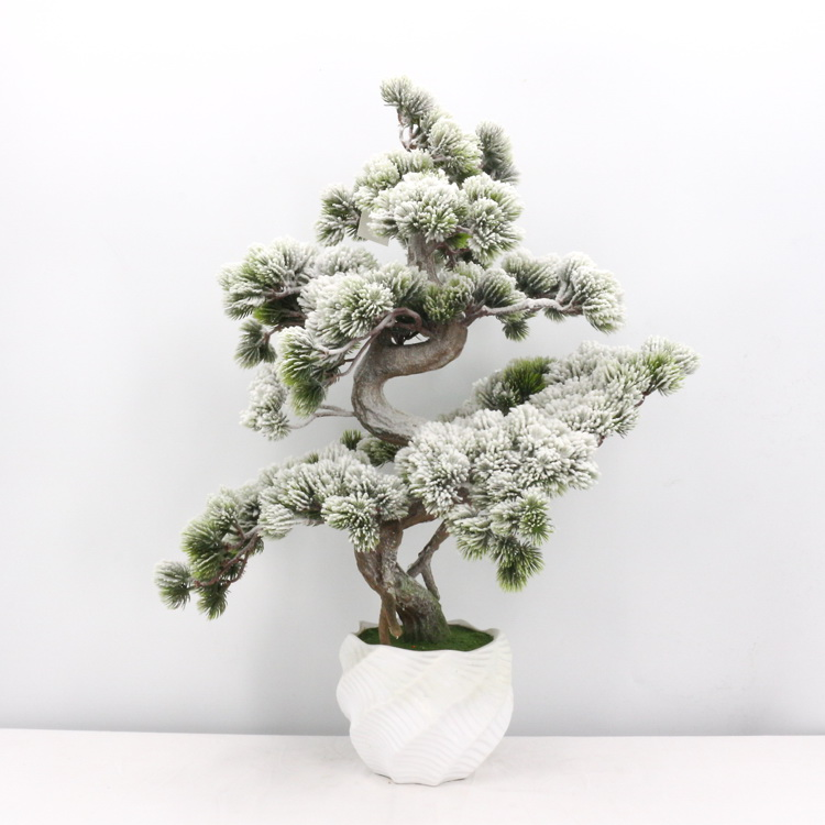 Popular 76cm green <strong>house</strong> plant snowflake pine needles artificial plants