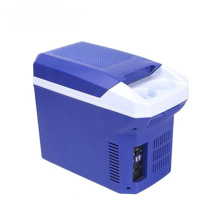 POPULAR 8L Mini Portable Car Fridge Freezer Camping Cooler Refrigerator DC 12V