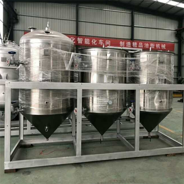 Factory Direct Edible Oil Machinery/Sunflower Oil Refining Machine/Oil Refinery Buyers