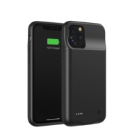 2020 New Design Hot sale 3500 mAh wireless charging phone Battery Case for iphone X/XR /11/ 11pro