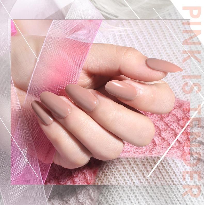 Tenteu Free Sample Soak Off Gel Polish Make Your Brand Nail Gel Polish Easily Coloring Nude Color UV LED Gel Nail Polish