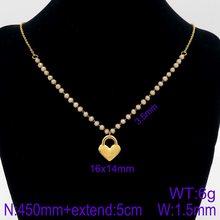 Корейская Мода Очарование Циркон Простой разнообразие стилей кулон ожерелье для женщин золотое ожерелье ювелирные изделия оптом(Китай)