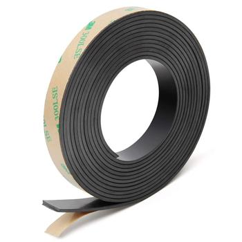 3M adhesive Soft rubber magnet strip strong adhesive magnetic tape