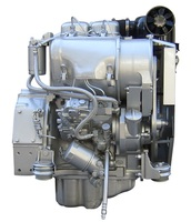 In stock air cooled 14kw deutz F2L912 deutz 2 cylinder engine