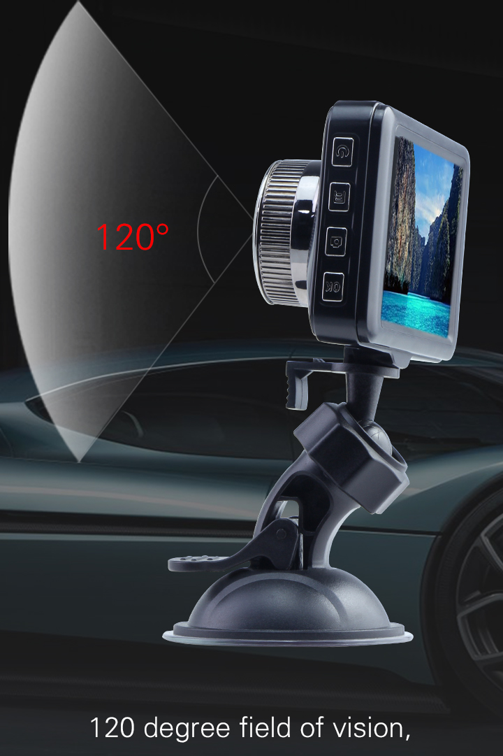 2019 Loop Recording Dashboard Camera with GPS G-Sensor Night Vision for wholesales