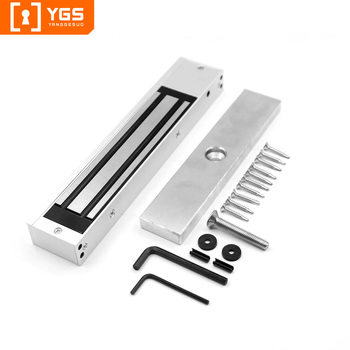 YGS time delay door wooden glass metal door magnetic card electric sliding door key locks