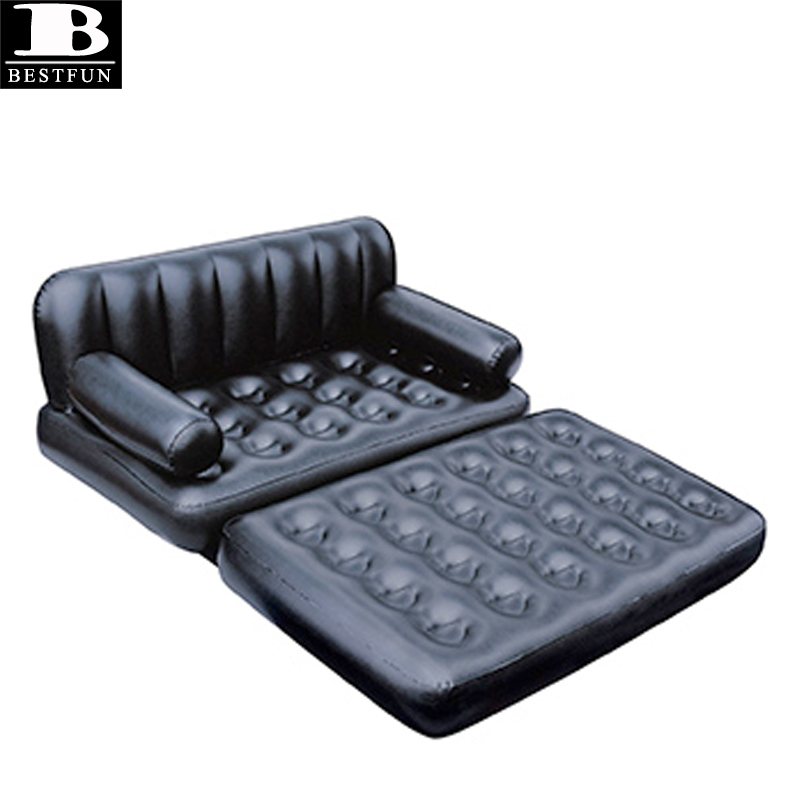 Heavy Duty Plastic Inflatable Sofa