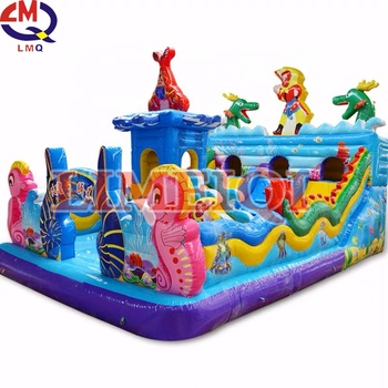 Inflatable park Indoor kids games inflatables castle