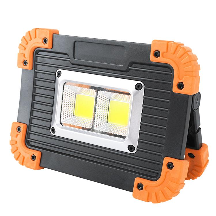 Amazon Ngoài Trời 20 Wát Đa Chức Năng Worklight, Portable USB Sạc COB LED Work Light Cho Cắm Trại