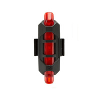 Bicycle tail light USB charging bicycle riding equipment accessories mountain bike led warning light bicycle tail light M1097