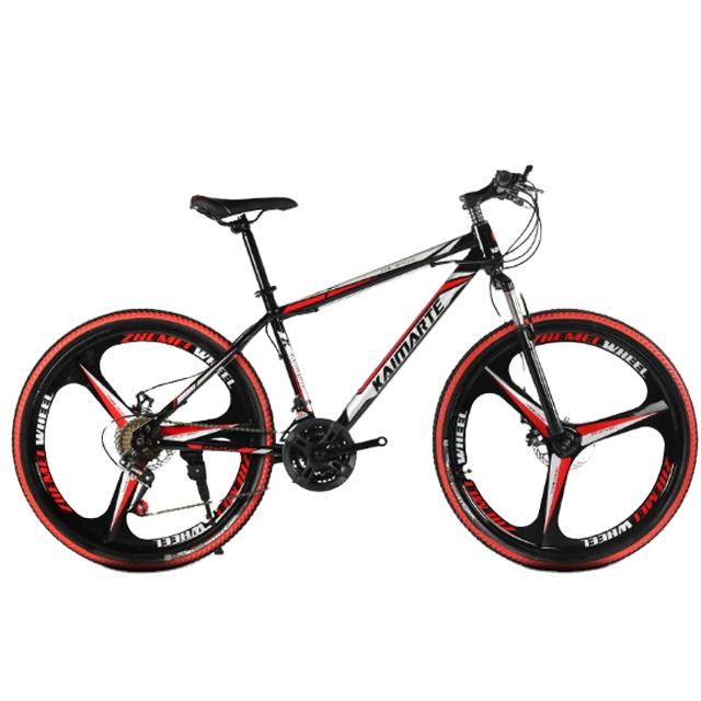 26 Inch  21 24 27 Speed High Carbon Steel Mountain Bike mtb for men with spoke wheel Three six ten knife wheel